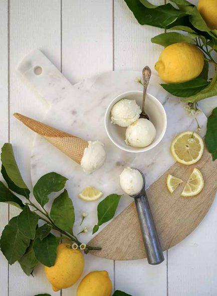 glace citron